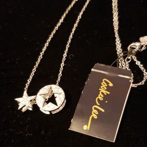 Cookie Lee jewelry silver star necklace